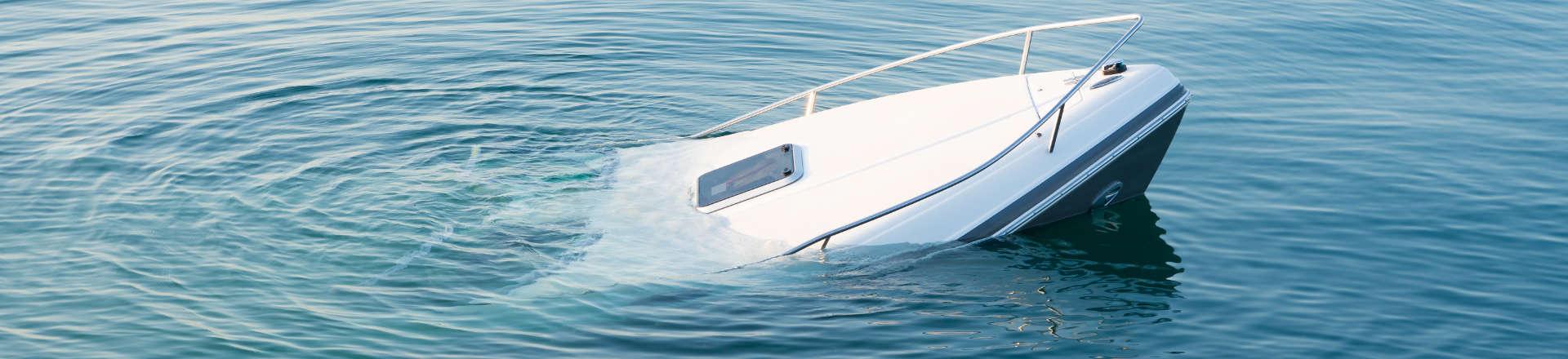 sinking boat